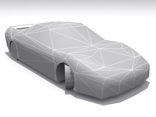 Honda NSX - Base - 3DOcean Item for Sale