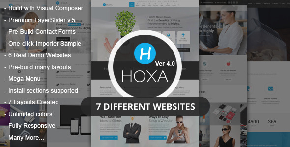 Hoxa – MultiPurpose WordPress Theme