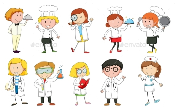 Occupations - People Characters