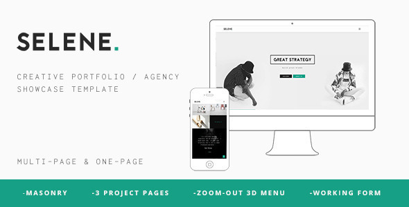 SELENE – Creative Portfolio / Agency WP Theme