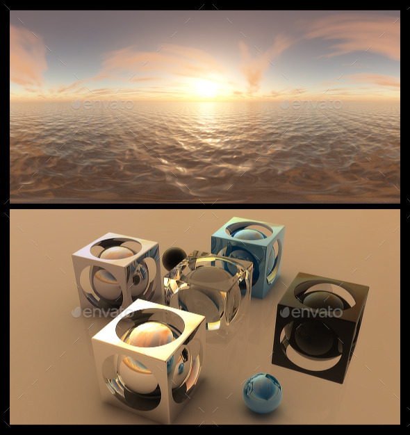 Golden Hour - HDRI - 3DOcean Item for Sale