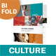 Art and Culture Bifold / Halffold Brochure - GraphicRiver Item for Sale