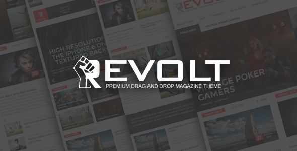 Revolt – Multipurpose WordPress Magazine Theme