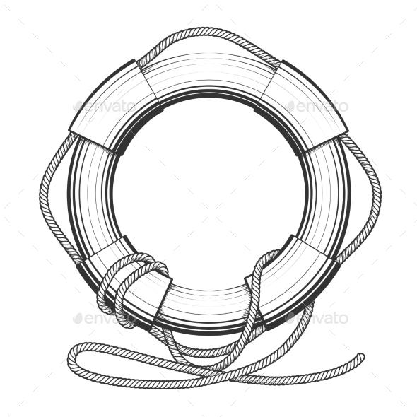 Lifebuoy - Objects Vectors