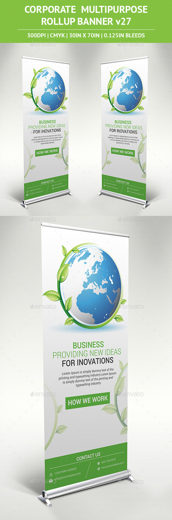 Rollup Banner-v29 - Signage Print Templates