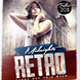 Midnights Retro Flyer Template - GraphicRiver Item for Sale