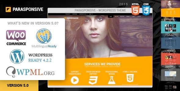 Parasponsive WooCommerce WordPress Parallax