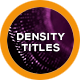 Density Titles - VideoHive Item for Sale