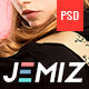 Jemiz - Ecommerce & CMS PSD Template - ThemeForest Item for Sale