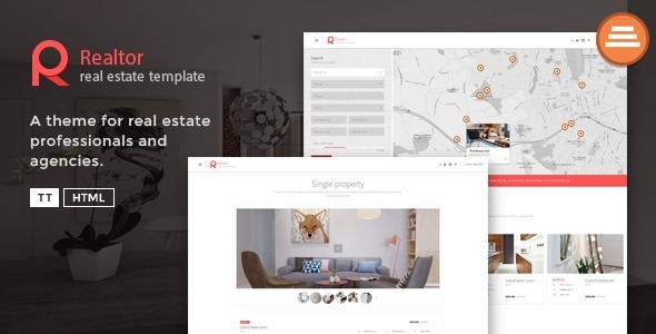 Realtor – A Real Estate Template