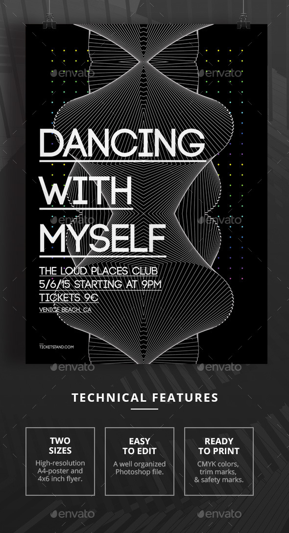 Dancing With Myself - Clubs & Parties Events