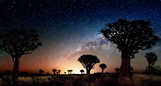 NightLapse In Namibia