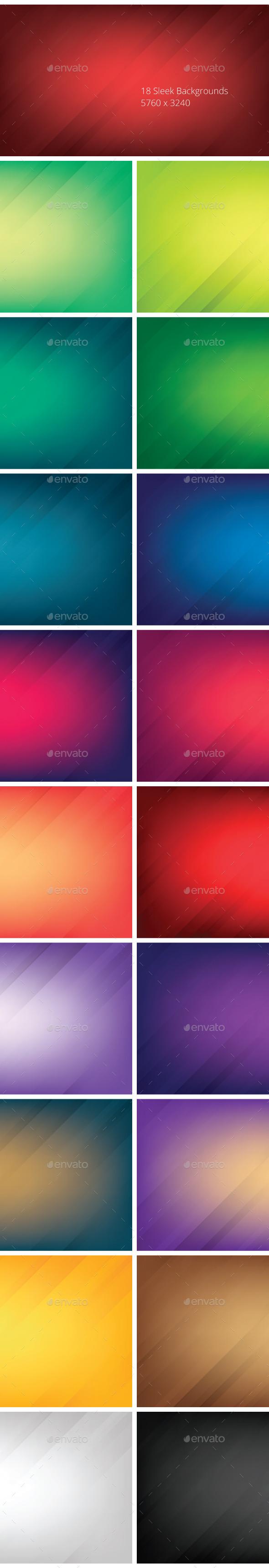 Sleek Backgrounds - Backgrounds Graphics