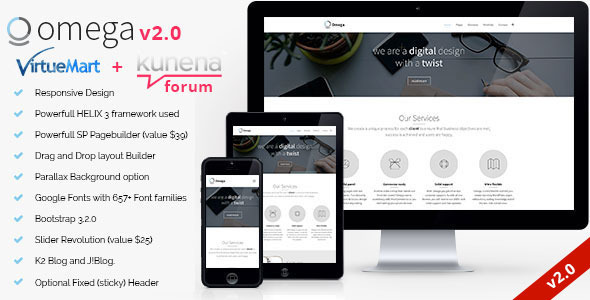 Omega - Multipurpose Business Joomla Template
