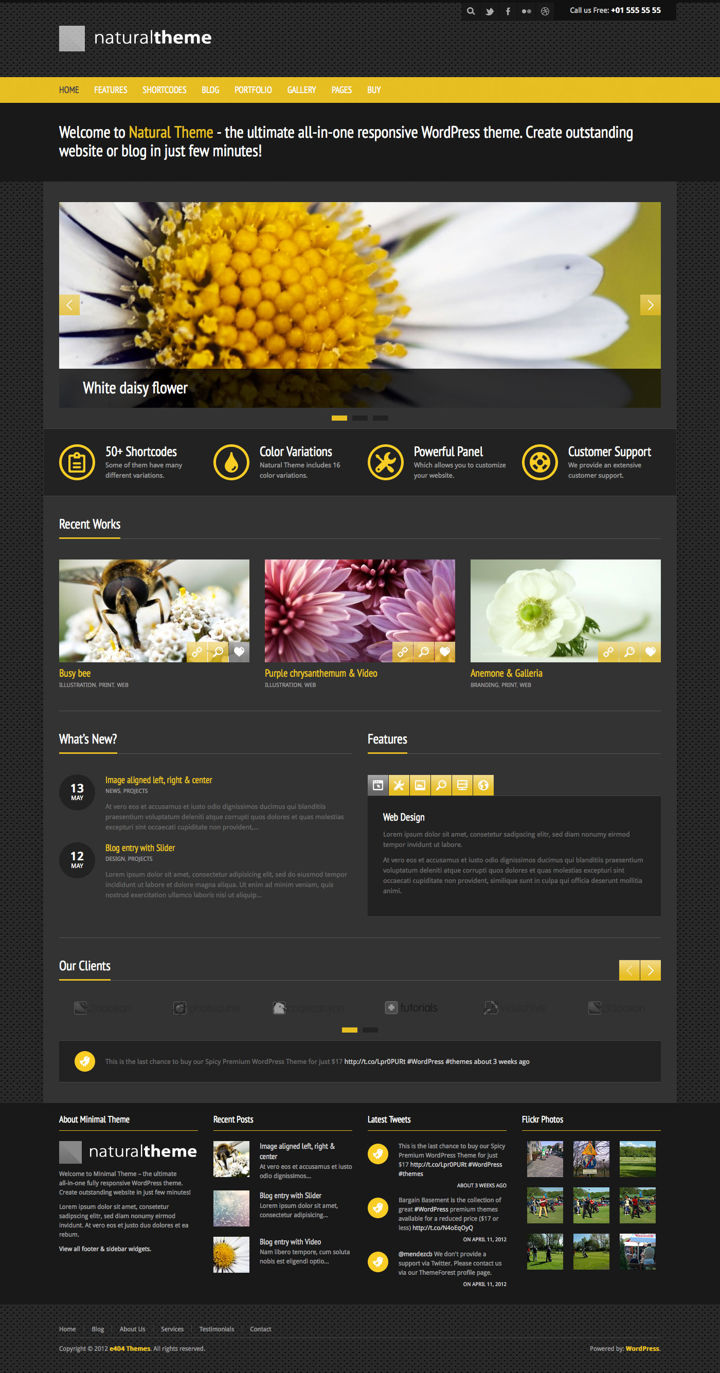 Natural - Powerful Responsive WordPress Theme by e404 | ThemeForest