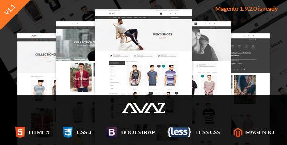 SNS Avaz - Responsive Magento Theme - Shopping Magento