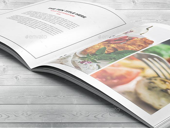 Square Portfolio Brochure Template By Hazemtawfik Graphicriver