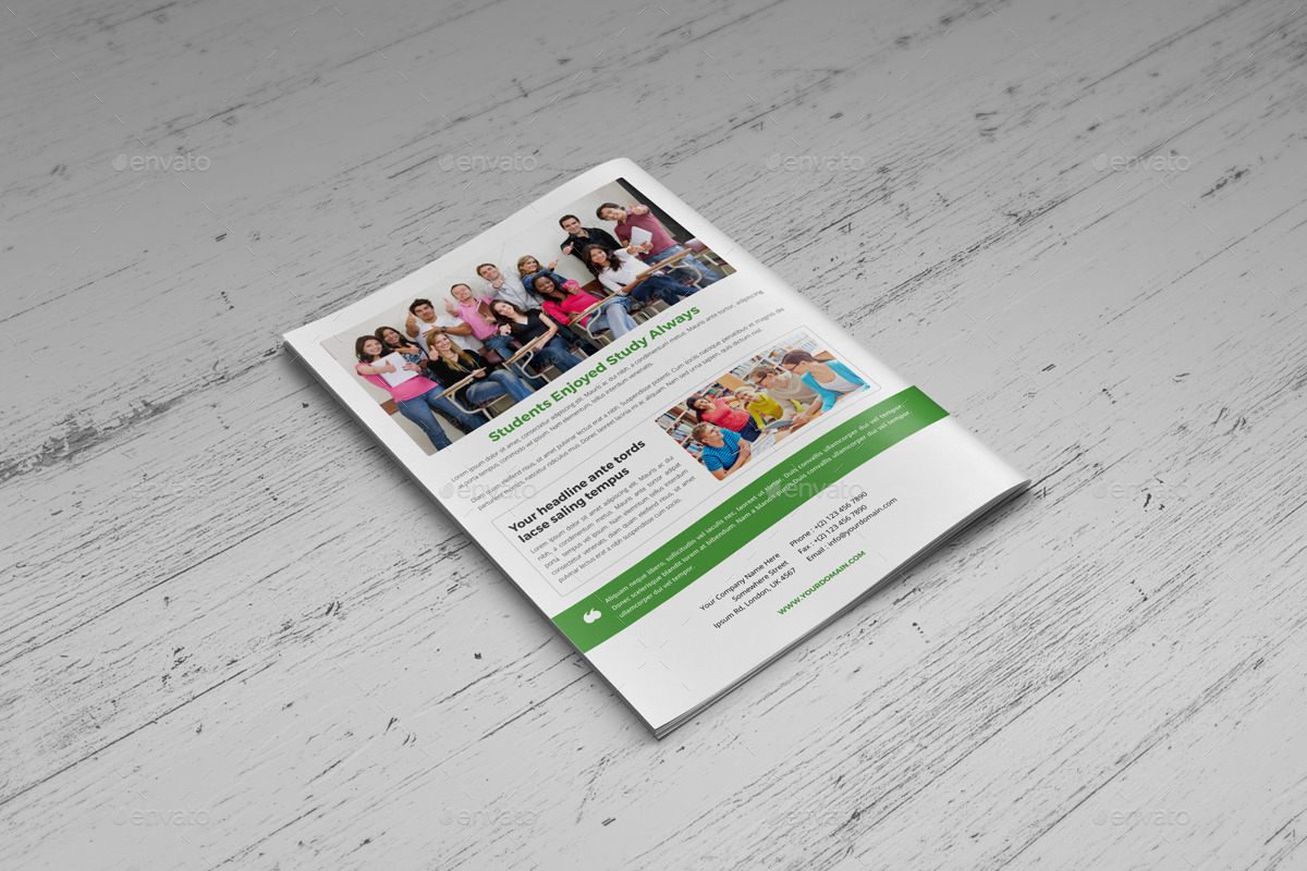 Student College Newsletter Indesign Template by Jbn-Comilla ...