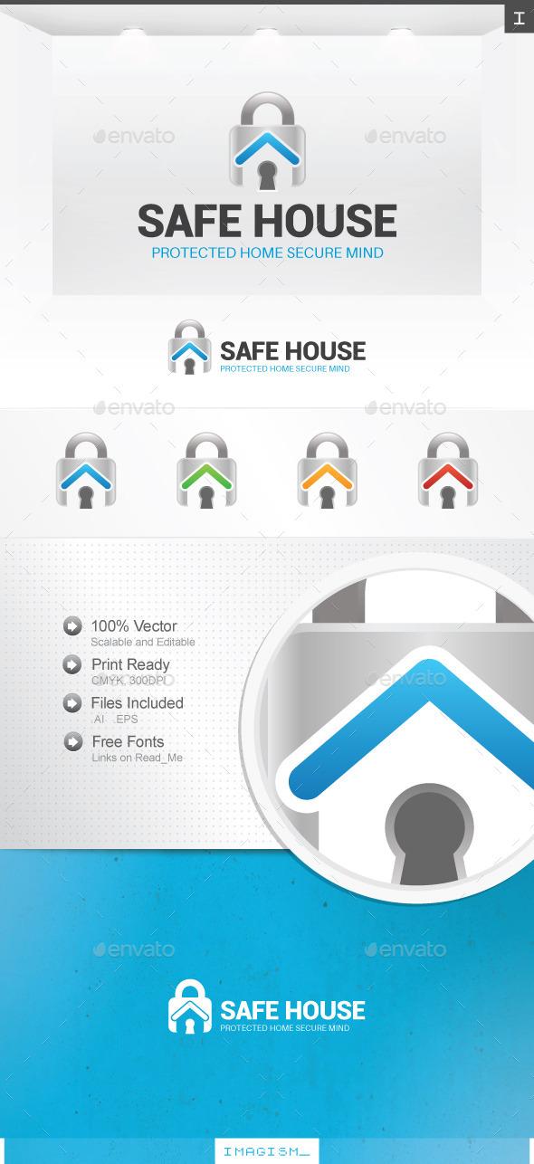 Safe House Logo - Symbols Logo Templates