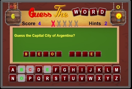 c2 Word Guessing Game by MeNandroid | CodeCanyon