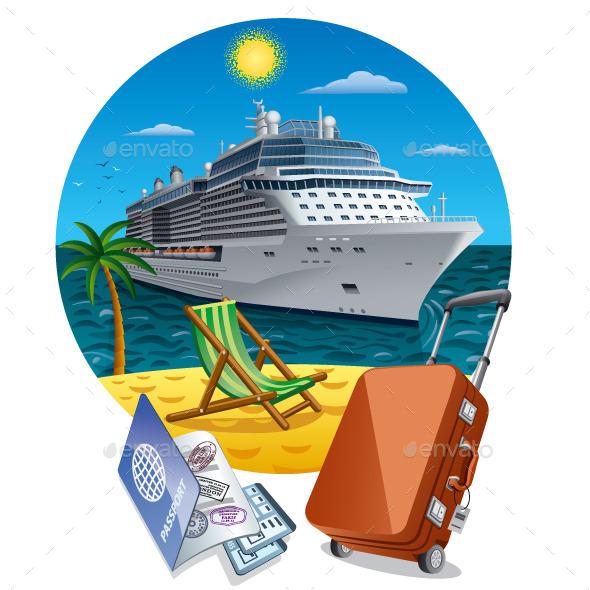 Sea Travel - Travel Conceptual