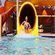 Senior Have Fun On Water Slide - VideoHive Item for Sale