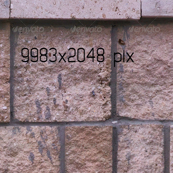 Stone Mid Wall Fence - 3DOcean Item for Sale