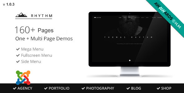 Rhythm – Multipurpose Virtuemart Joomla theme