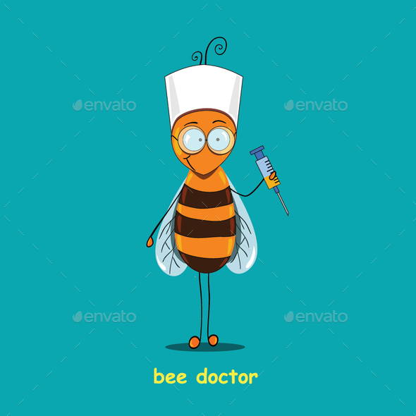 Bee Doctor - Animals Characters