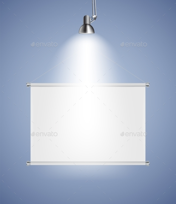 Background with Lighting Lamp - Man-made Objects Objects