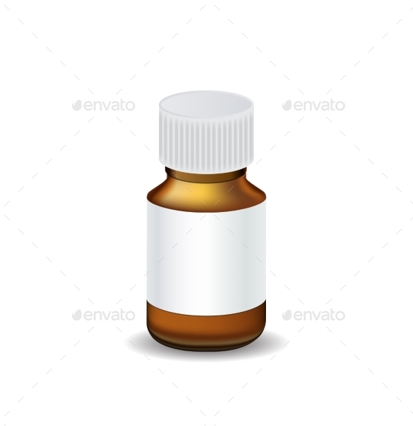 Medical Bottle - Health/Medicine Conceptual