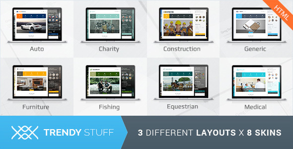 Trendy Stuff - Responsive Business HTML5 Template - Business Corporate