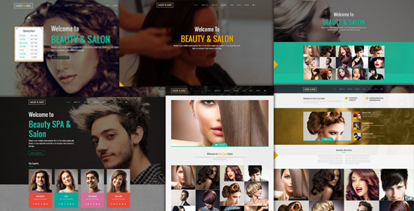 Hair Care - Creative Multi-Purpose WordPress Theme - Fashion Retail