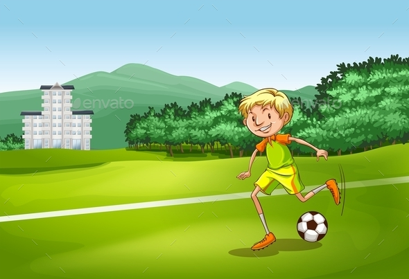 Soccer Player - People Characters