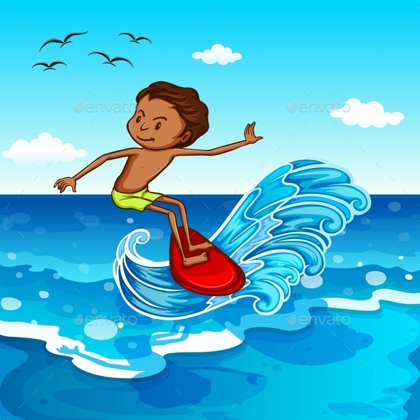 Surfing - People Characters