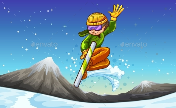 Snowboard - People Characters