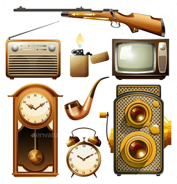 Vintage Objects - Miscellaneous Conceptual