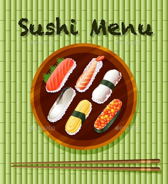 Sushi - Food Objects