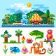 Tropical Landscape - GraphicRiver Item for Sale