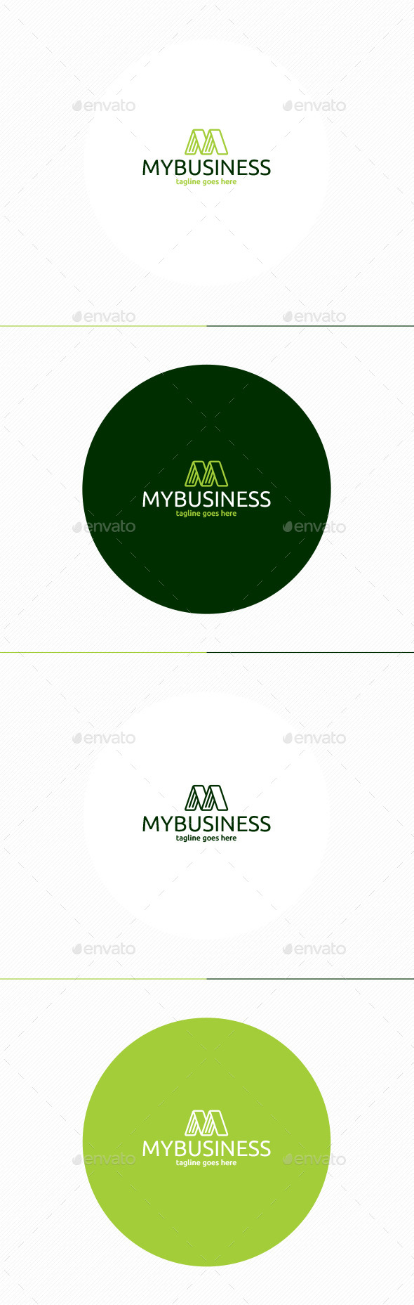 My Business Logo - Letters Logo Templates
