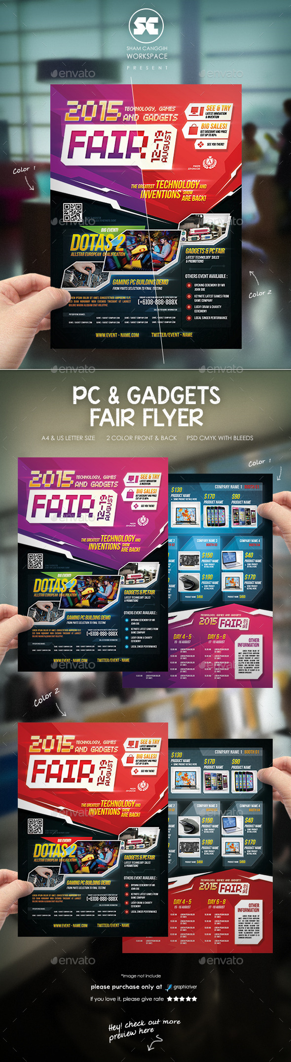 Computer And Gadget Fest Flyer - Miscellaneous Events