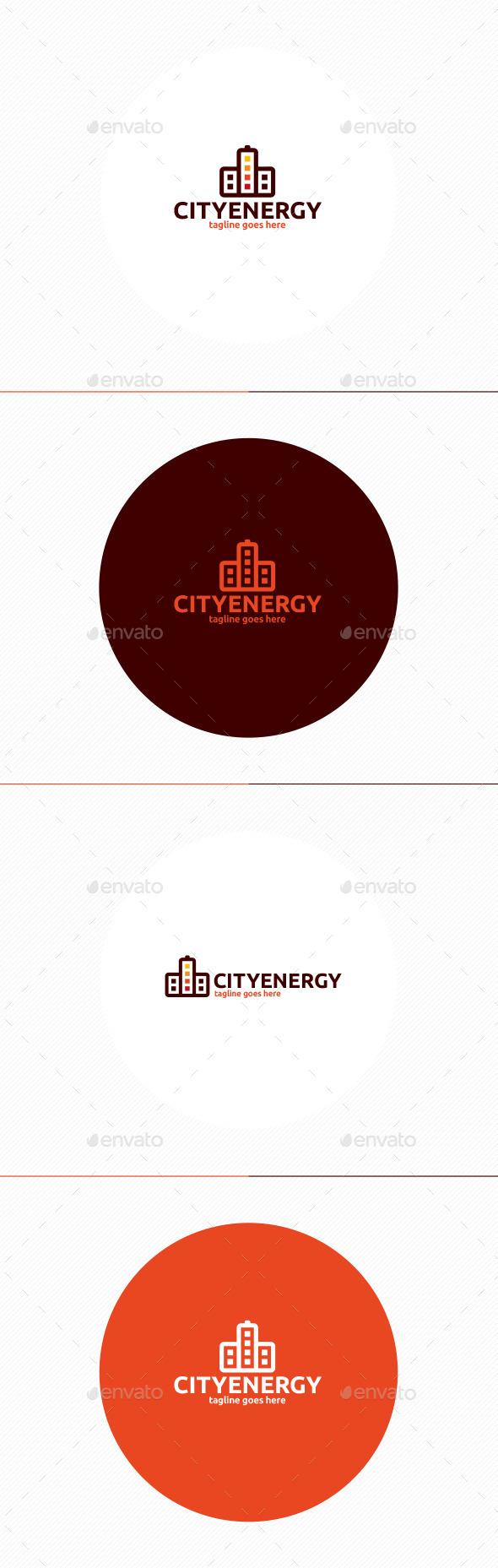 City Energy Logo - Buildings Logo Templates