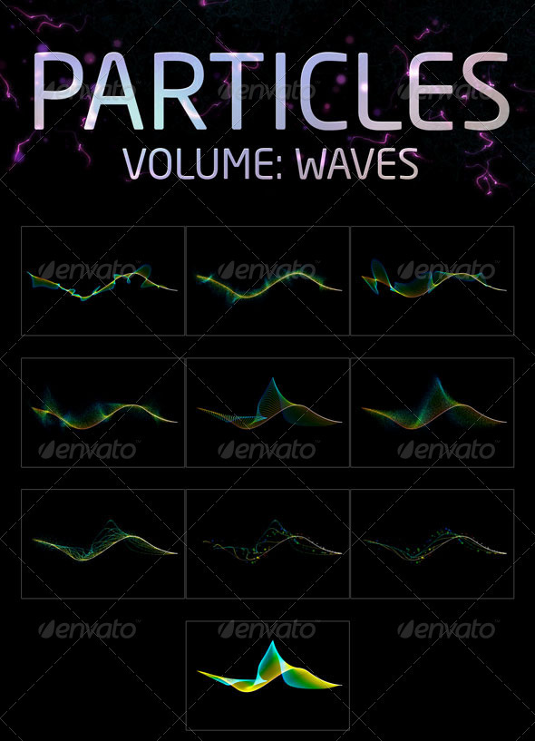 Particles Pack // Waves - Graphics