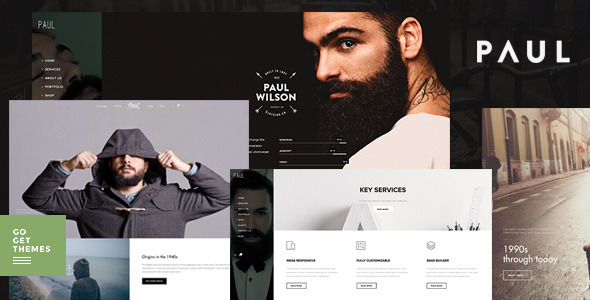 Paul - Creative Multi-Purpose WordPress Theme - Experimental Creative