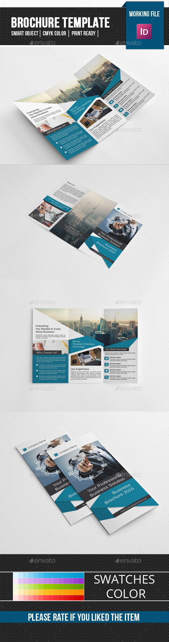 Corporate Trifold Brochure-V241 - Corporate Brochures