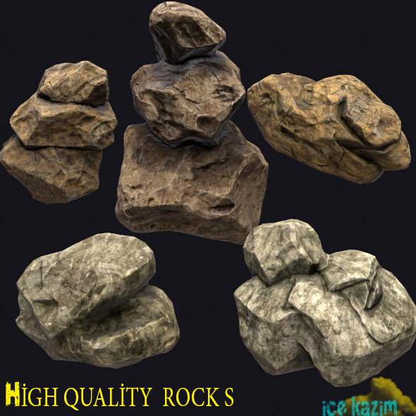 Rock_Pack - 3DOcean Item for Sale