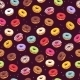 Colorful Donuts Seamless Pattern. Doodle Sketch - GraphicRiver Item for Sale