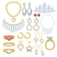 Set Of Jewelry Items. - GraphicRiver Item for Sale