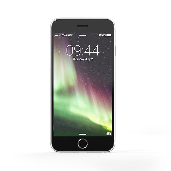 Black smartphone - 3DOcean Item for Sale