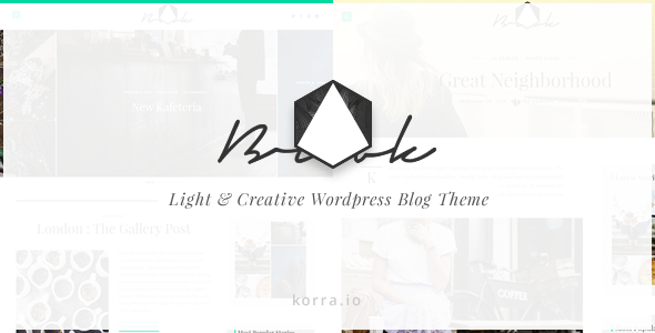 Brook | Light & Responsive WordPress Blog Theme